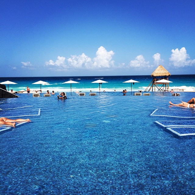 Do you feel the need to go farther south, like Cancun? Photo by Christine Hull