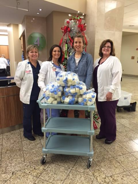 The first drop-off of pasteurized human milk was in November 2015 at Brookwood Medical Center's NICU.