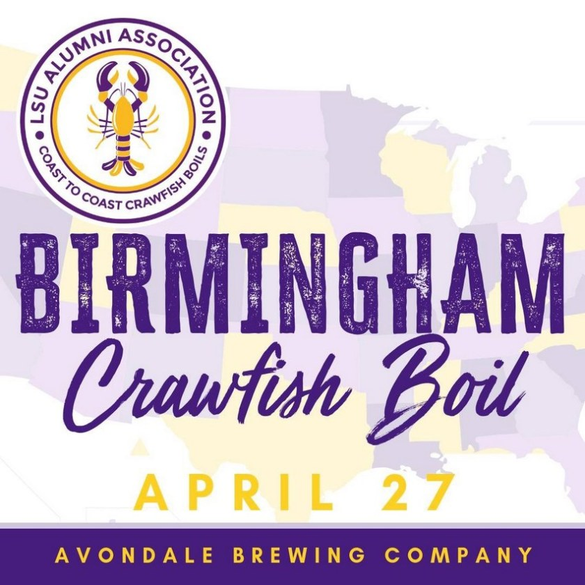 Birmingham, Alabama, LSU crawfish boil