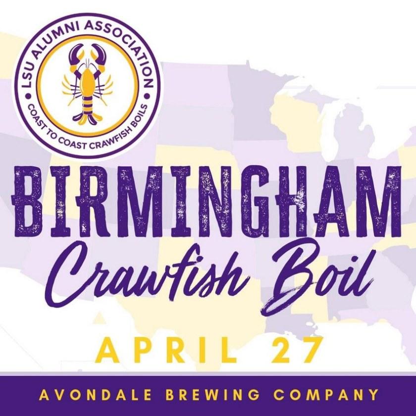 Birmingham, Alabama, LSU crawfish boil