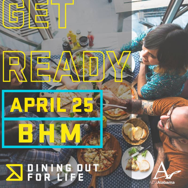 Get ready for Dining Out for Life April 25.