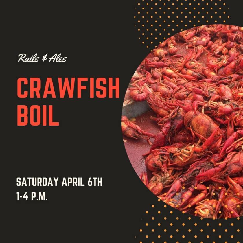 Leeds, Alabama, Rails and Ales, crawfish