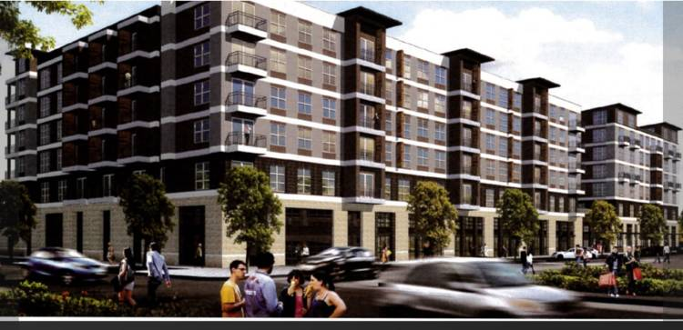 Bakers Row II will consist of 207 student housing units near Railroad Park.