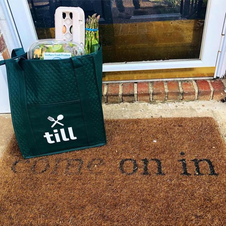 Birmingham, Alabama, till, insulated bag