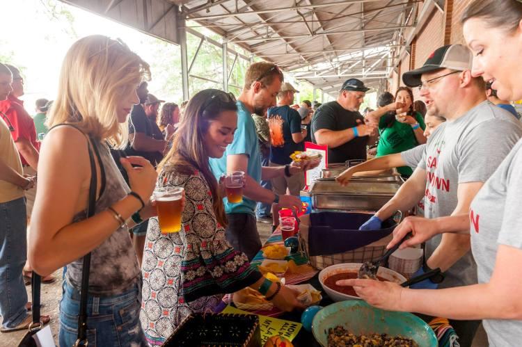 Birmingham, Salsa Showdown, food, festivals, Cahaba Brewing Company