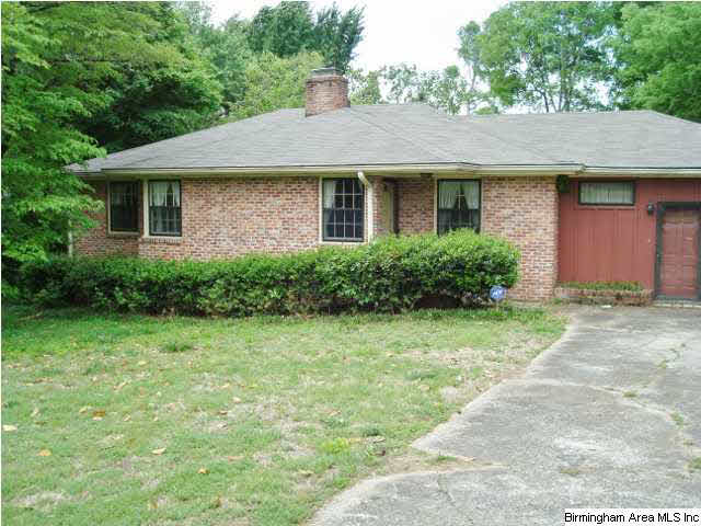 Birmingham, Alabama, Bluff Park, home makeover, house renovation, before photo