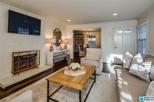 Birmingham, Alabama, Bluff Park, home makeover, house renovation, after photo, living room