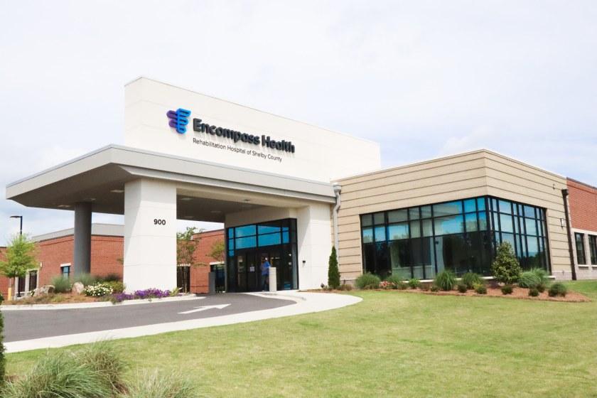 Take a look inside the Encompass Health Rehabilitation Hospital of