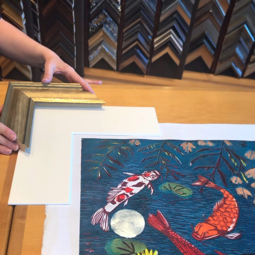 29fa6a576607 5 tips on choosing the perfect framer including the Birmingham frame ...