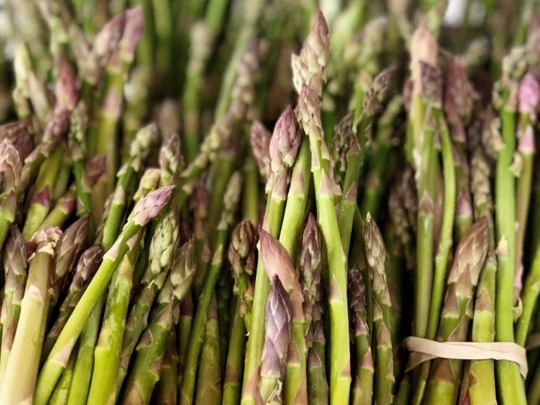 Asparagus at Market at Pepper Place 2019 in Birmingham, Alabama