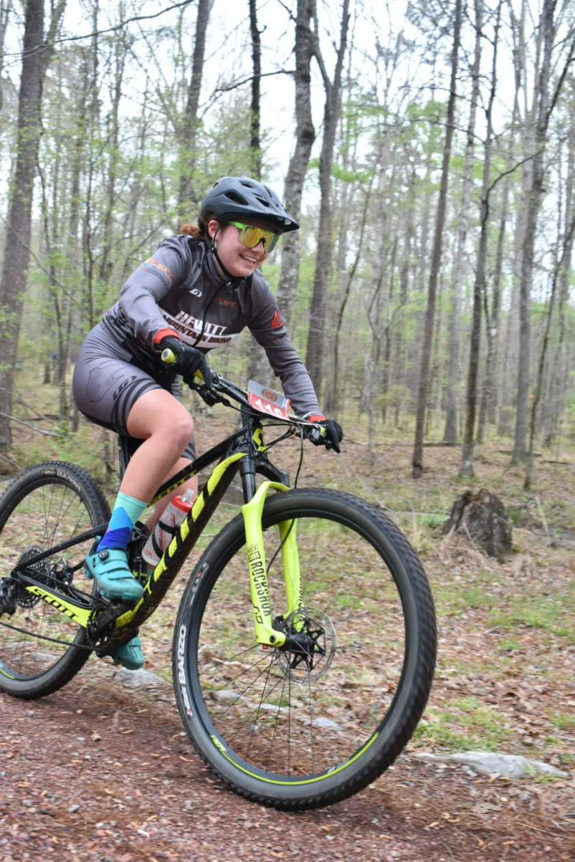 Keep your eye on Trussville's Izzy Haley when it's time for competitive mountain biking in Birmingham.