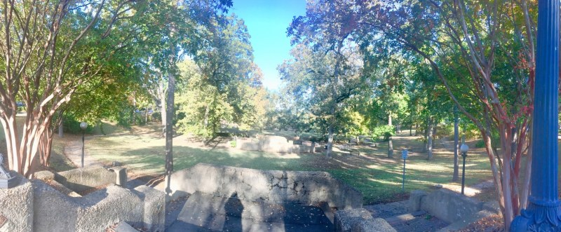 Rhodes Park in Southside is an unofficial dog park.
