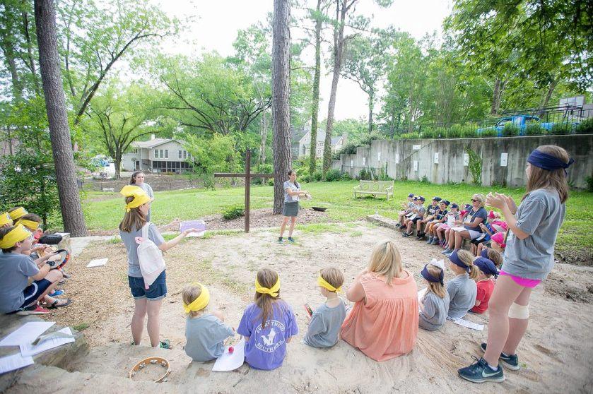 Birmingham, Saint Luke's Episcopal Church, kids, camp, VBS, Vacation Bible School