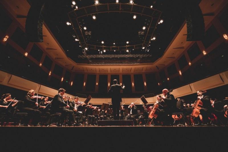 Alabama Symphony Orchestra Rehearsing