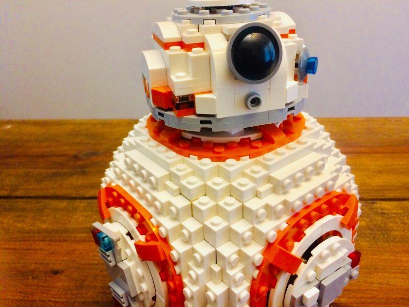Birmingham, Lego, legos, BB8, Star Wars