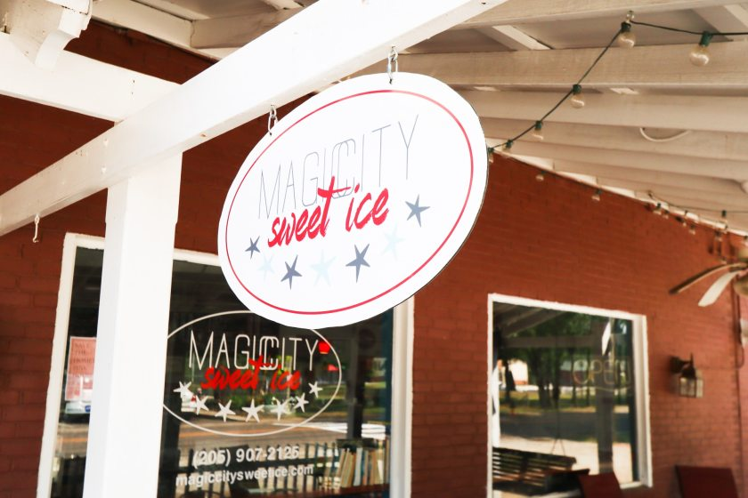 Magic City Ice in West Homewood. (Photo by Christine Hull for Bham Now)