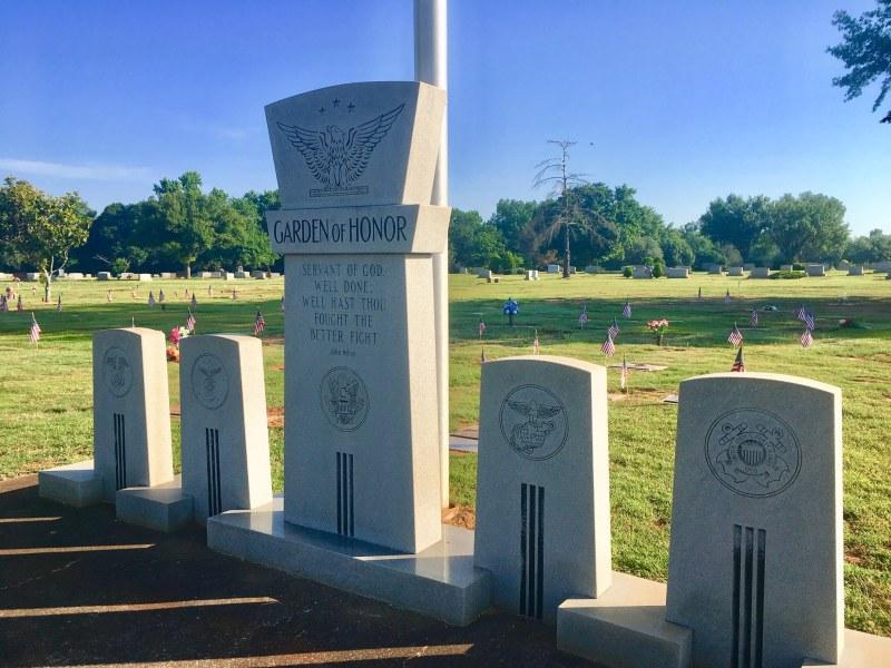 Garden of Heroes Elmwood Cemetery