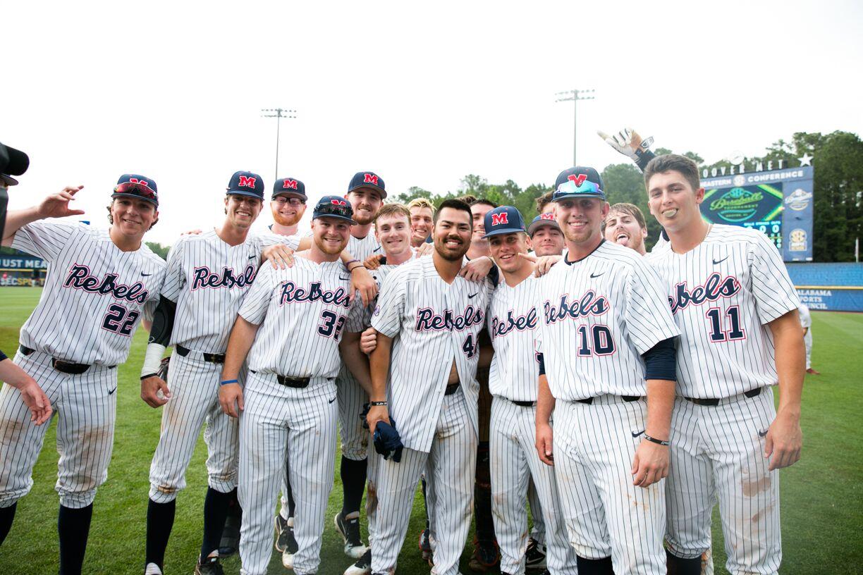 2018 Tournament champs. Photo via SEC Baseball Tournament