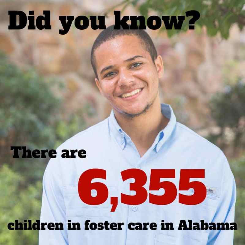 Did you know there are 6,355 children (and rising) in foster care in Alabama?