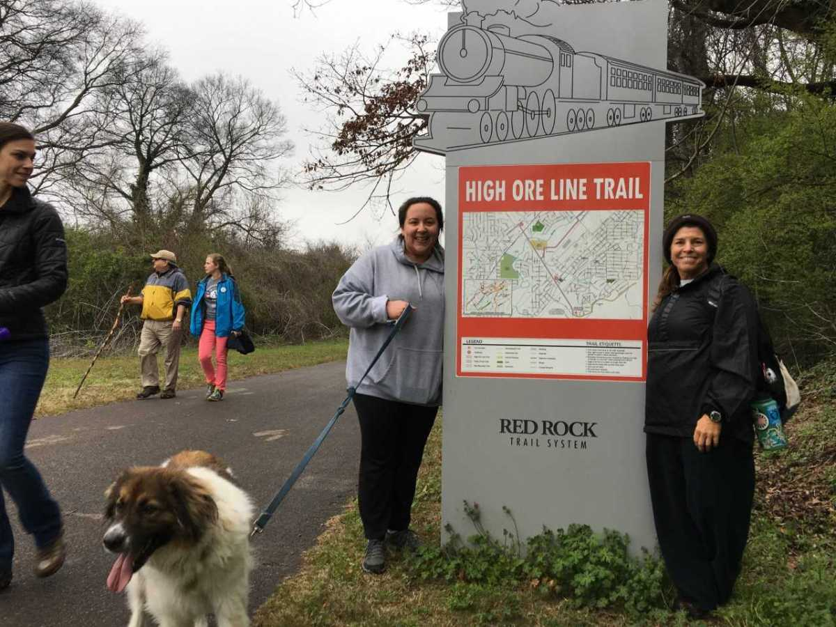 5 hikes on Birmingham's Red Rock Trail System: including the new section of the High Ore Line Trail