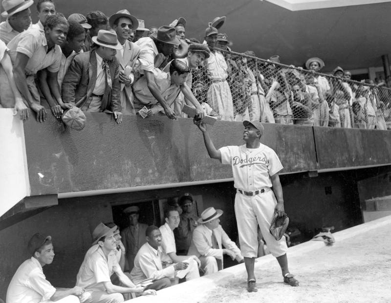 Rickwood Field was also home to the Birmingham Black Barons, including Jackie Robinson.