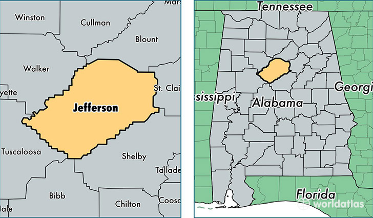 Jefferson County Alabama is home to 956 children in foster care.