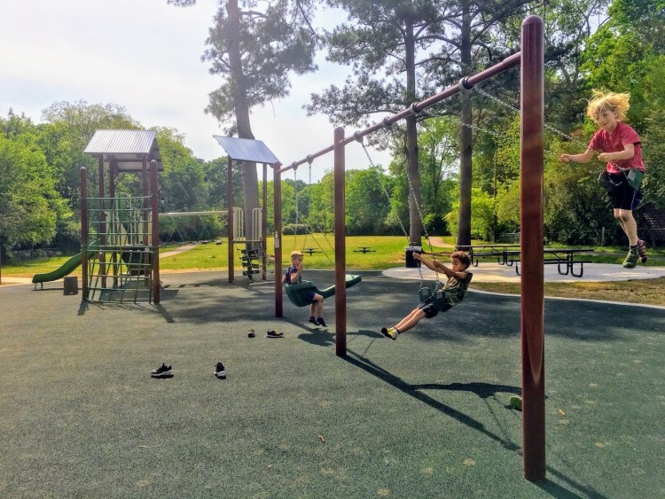 """Hidden Park"" is right in the heart of Birmingham's Crestline neighborhood."