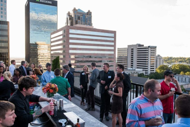 The Redmont Hotel will have a good view of July 4 Fireworks at Vulcan Park and Museum. Birmingham, Alabama.