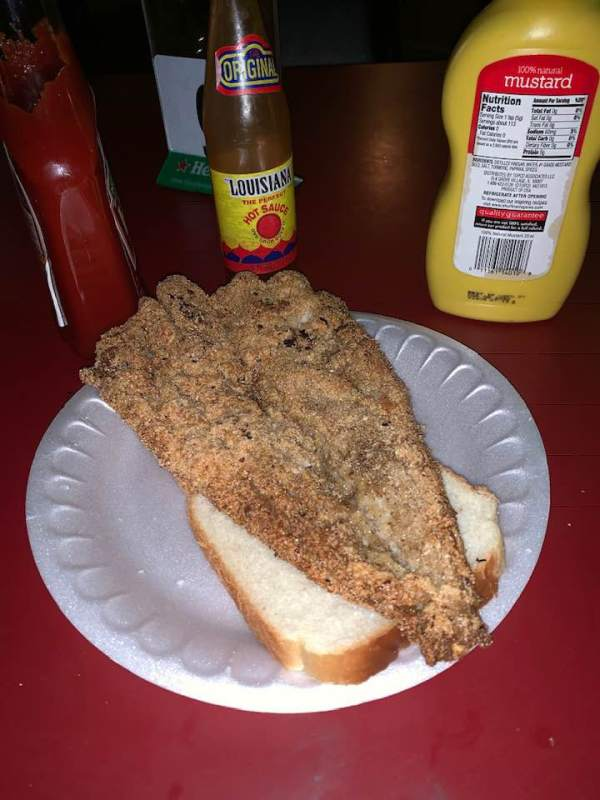 Food at the Wallace Lounge includes fish sandwiches.