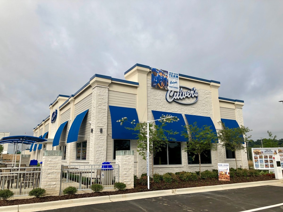 Here's your update on Stadium Trace Village in Hoover. Culver's Restaurant opens.  Big Whiskey and others coming soon