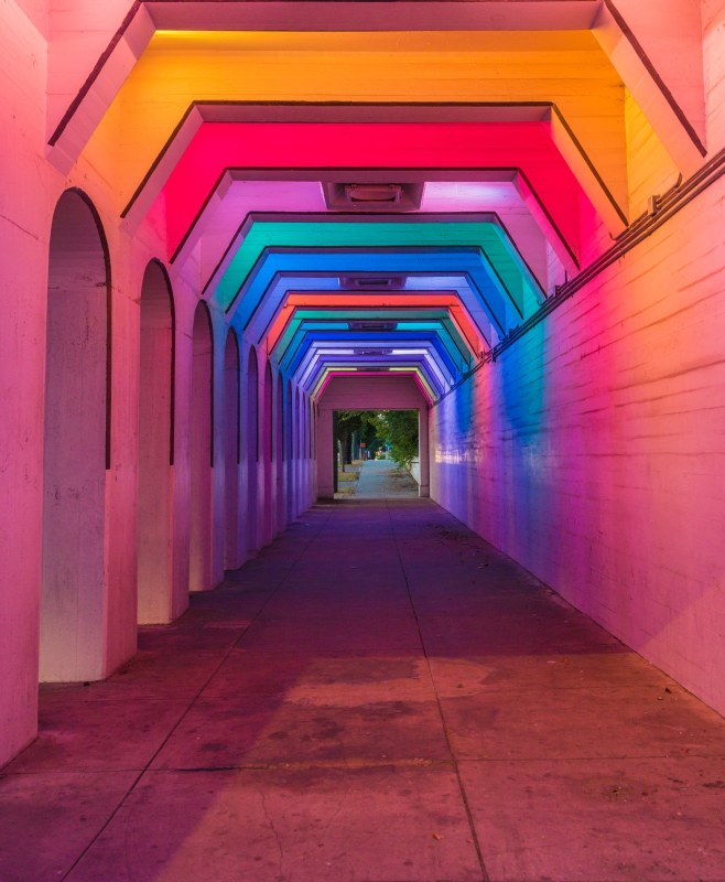 Birmingham Lights project illuminates one of the historic pathways between north and south of Birmingham, Alabama