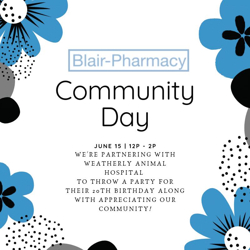 Blair Pharmacy Community Day