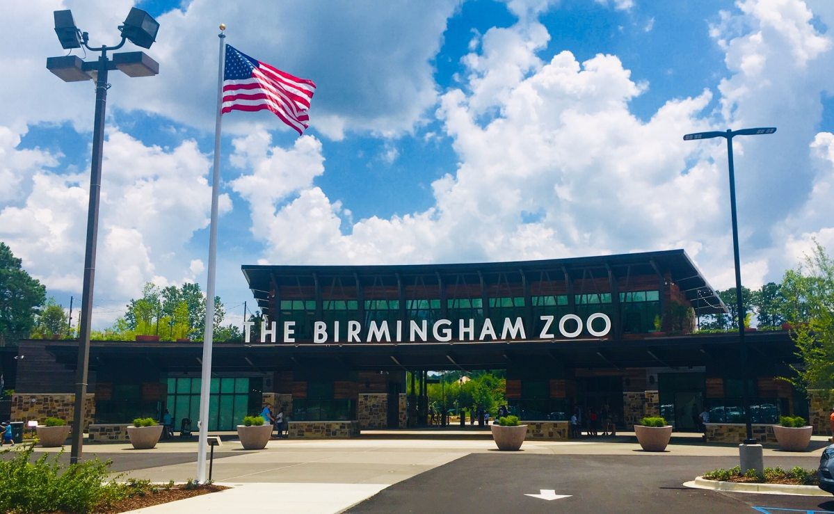 Now that's a grand entrance! Birmingham Zoo opens new Arrival Experience and Welcome Plaza (Photos)