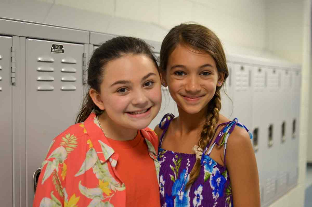 Young stars of Matilda the Musical, Ramsey Whitney and Emma Sonnichsen, discuss preparations for the show's opening on July 12 and show us around 'Matilda Bootcamp'