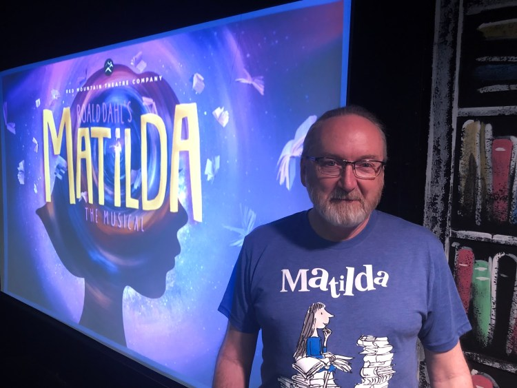 Michal Flowers, Director of Matilda the Musical