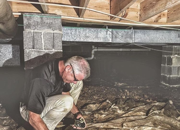 Wet, Nasty Crawlspace? Why you should care, the quality of the air you breathe depends on it. We asked the experts.