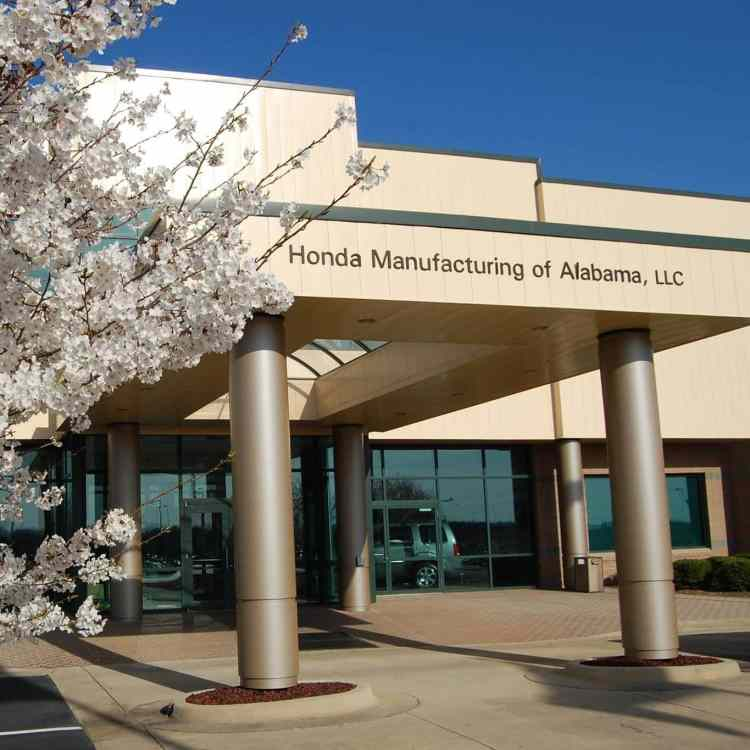 Honda Manufacturing of Alabama has a factory tour about 45 minutes East of Birmingham on I-20.