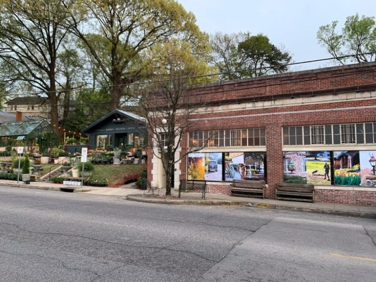 SHOPPE and the old Silvertron building are just over the hill from Cottages on Fifth in Forest Park.