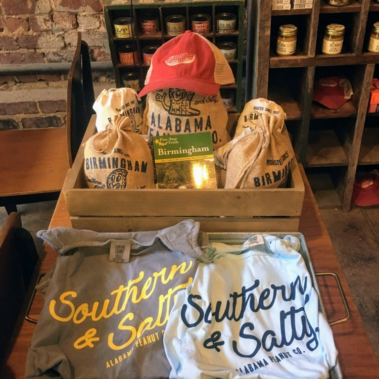 Get all sorts of souvenirs—edible and non—at Alabama Peanut Co.