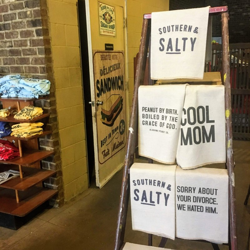 Lots of fun Southern souvenirs at Alabama Peanut Co.