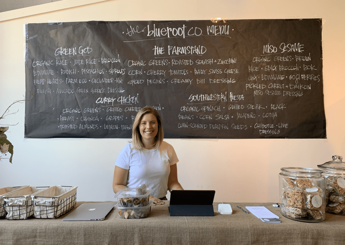 Local food concept blueroot co. opens pop-up at Pepper Place for the month of July