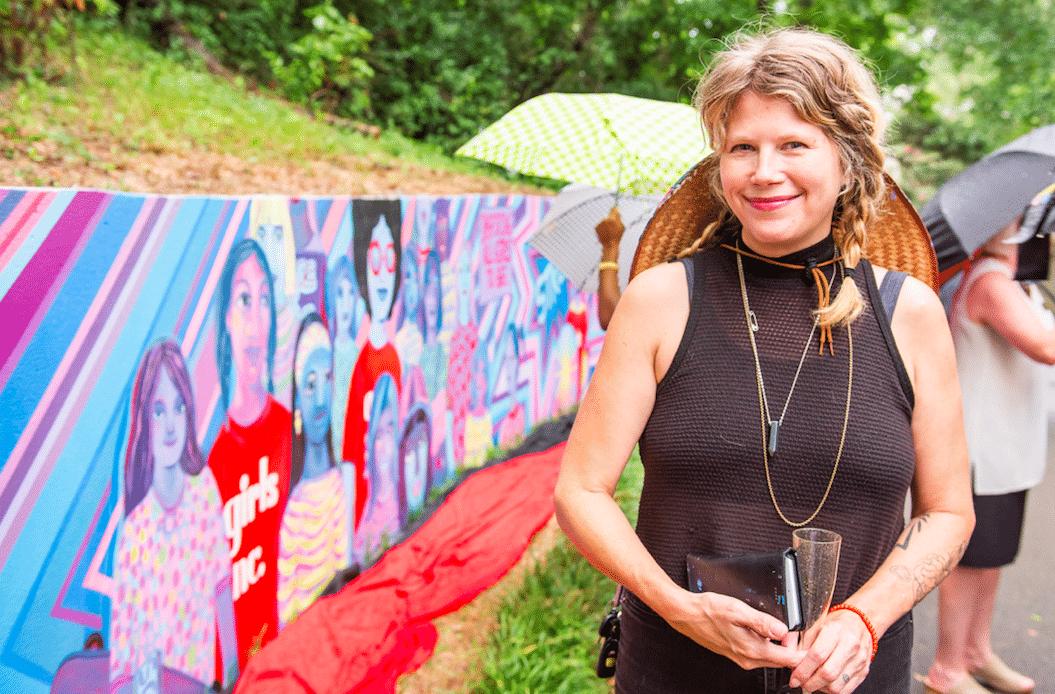 Acclaimed artist Merrilee Challiss builds Birmingham's art scene