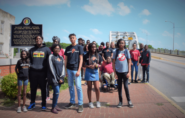 Students tour Alabama's African American Heritage Sites with the Birmingham Civil Rights Institute with an eye on preserving them