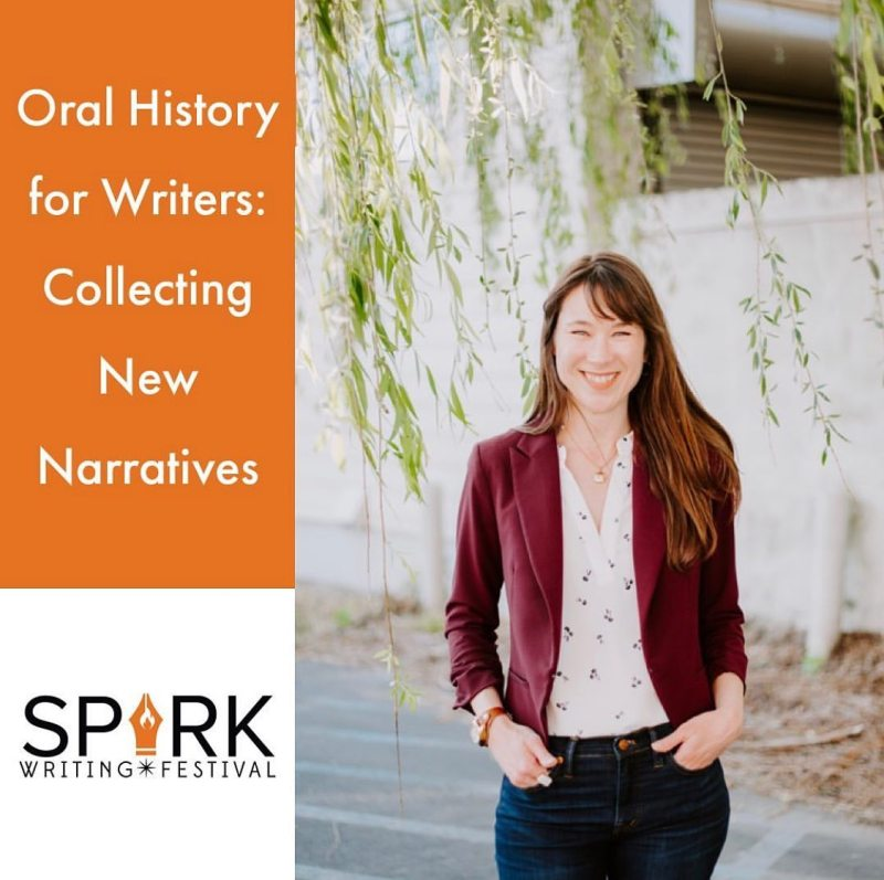 Akousate will be offering an oral history gathering workshop at UAB's Spark Writing Festival.