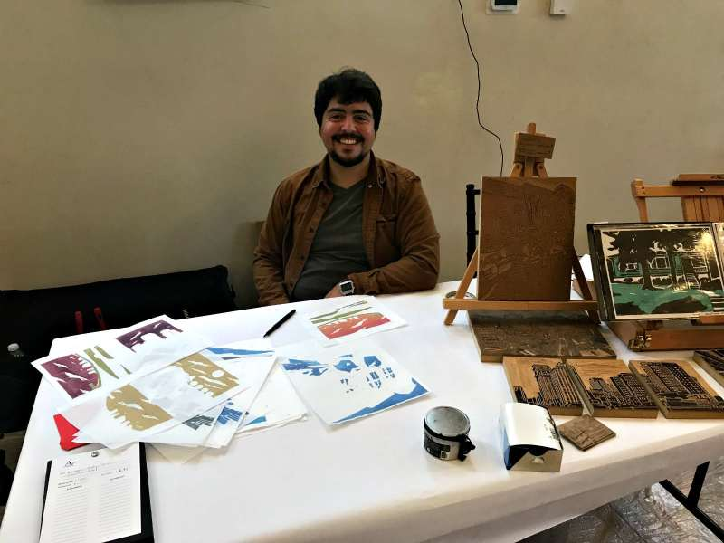 Michael Molay was one of the artists at last year's Art Alive!