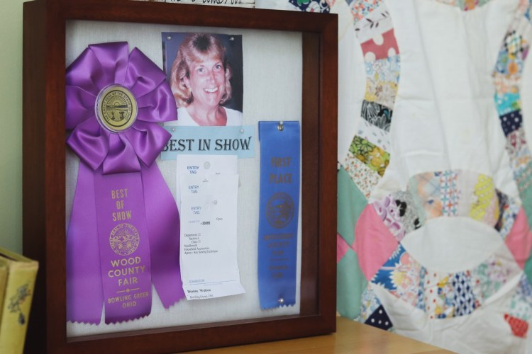 Best in show in the Closets by Design sewing room.