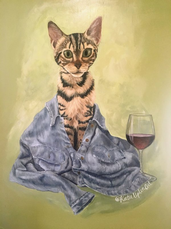Kitty cats will be plentiful at Gatos and Beans, as will wine, beer, coffee and tea.