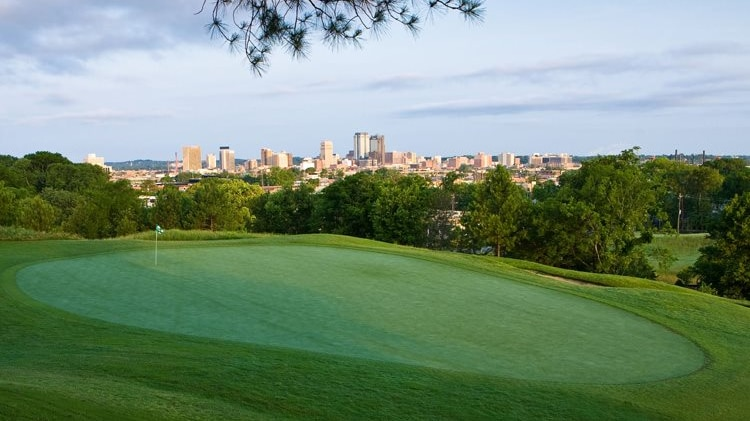 Guide to 9 public golf courses within 25 miles of Birmingham. Map included. We're not 'tee'-zing