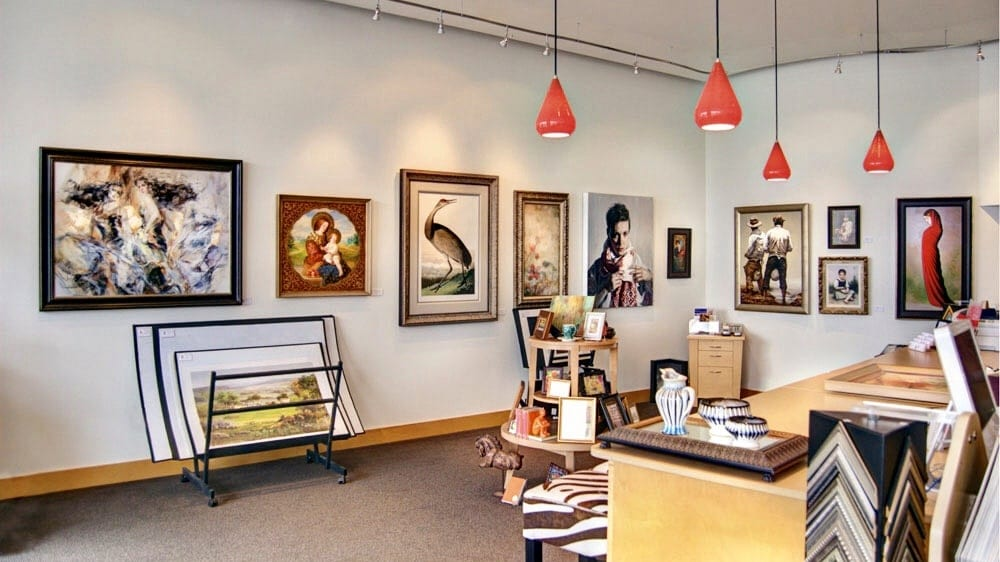 6 tips for selecting and purchasing art with help from Birmingham's Four Corners Gallery.