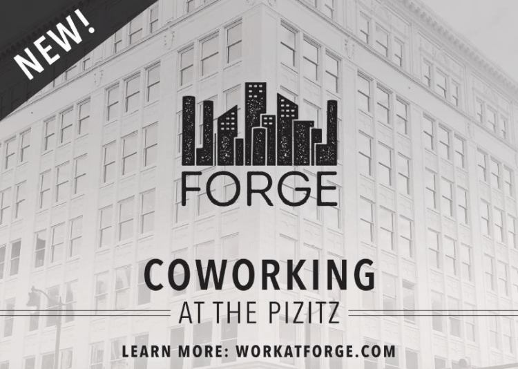 Forge is a great coworking space downtown.